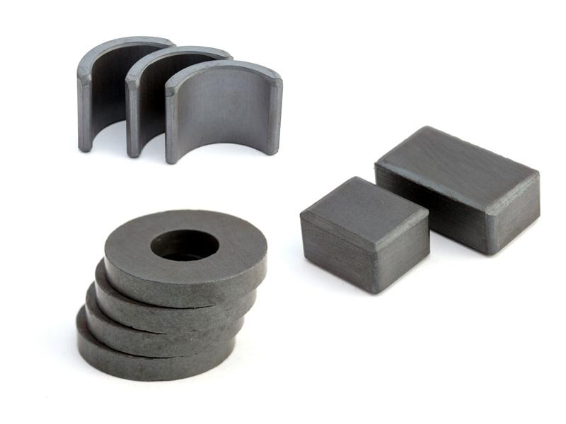 custom made ferrite magnets