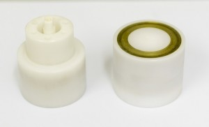 plastic covered magnetic coupling